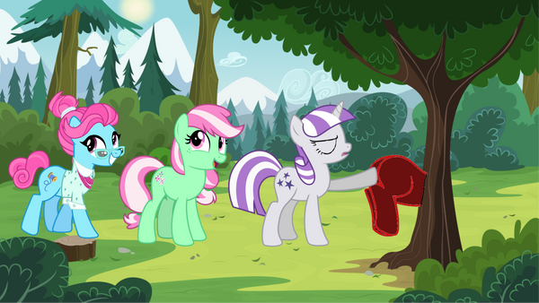 Twilight Velvet Pulls The Red Pony Of The Tree