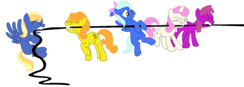 War With The Ponies by Luckydog416