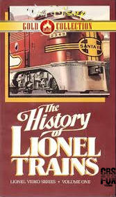 The History of Lionel Trains (2000 VHS)