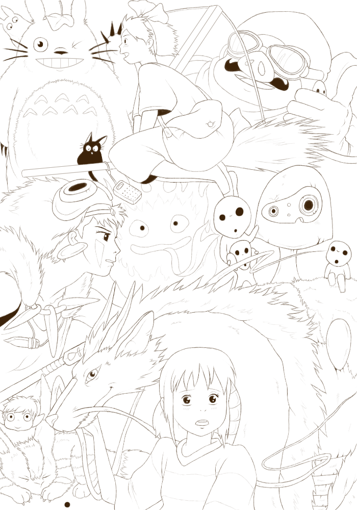 Ghibli theme by Anka33