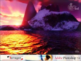 O por so Sol - Terragen and PS by Porrinha