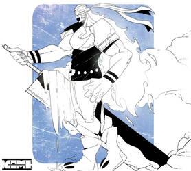 Giant god by kami-shiwa