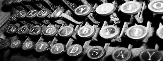 Typewriter by littletomato
