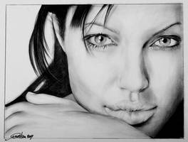 Angelina Jolie by CristinaC75