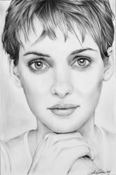 Winona Ryder . by CristinaC75