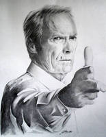 Clint Eastwood by CristinaC75