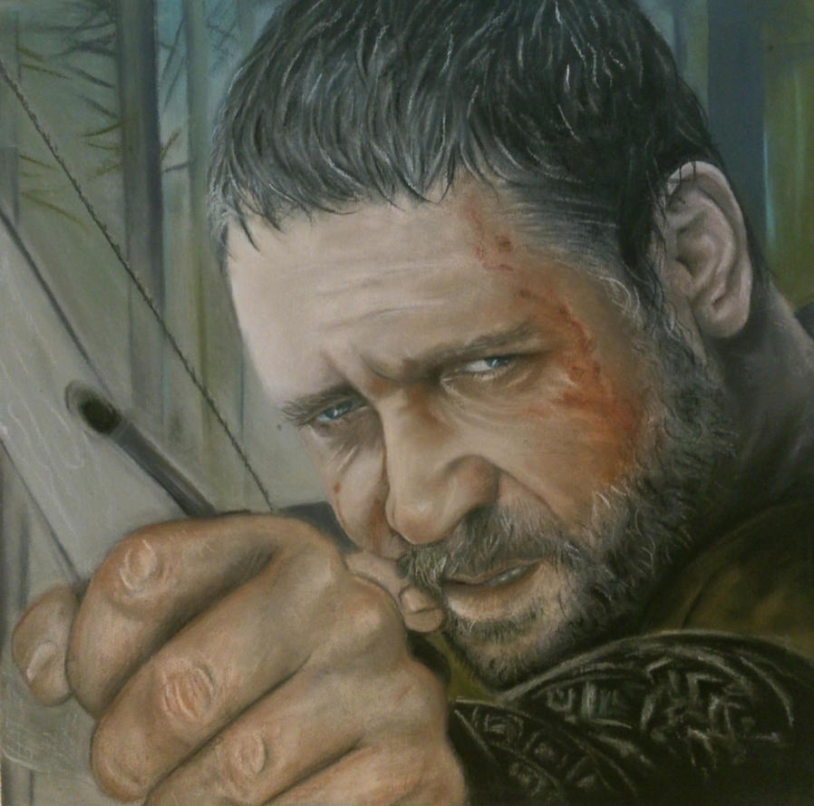 Russell Crowe (Robin Hood) by CristinaC75