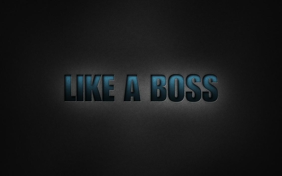 Like A Boss By RanzQ