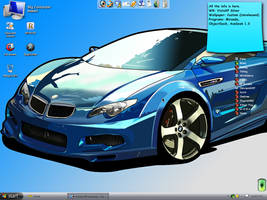 VistaXP With BMW Wall by CI-Hoshi