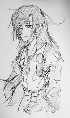 Ink Doodle: Hanz