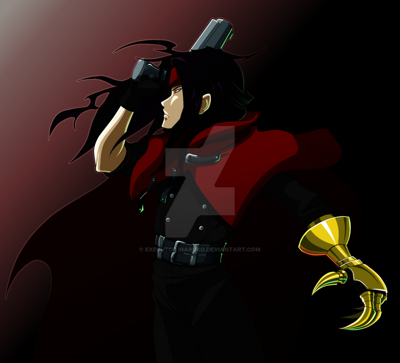 Vincent Valentine: Old Design by Executor-Haruko