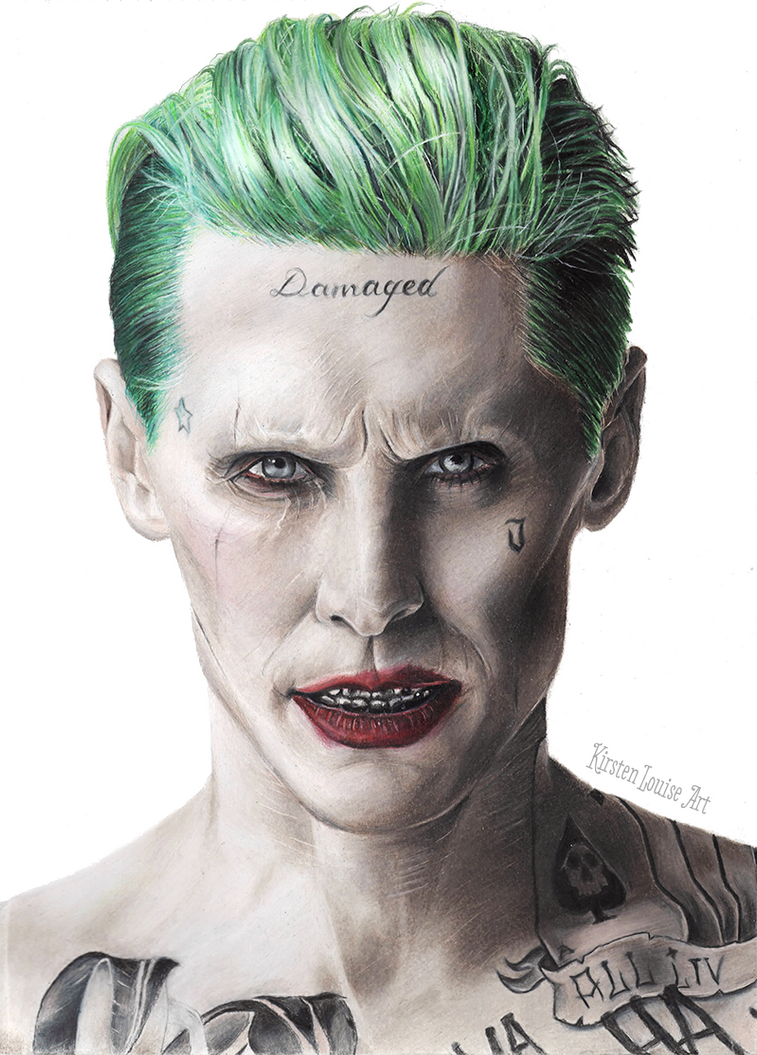 The Joker Drawing - Suicide Squad - Jared Leto by ... Jared Leto Instagram