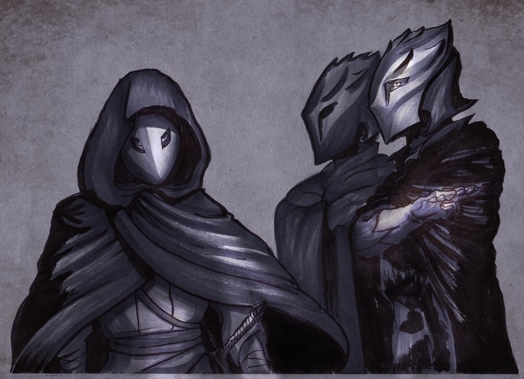 The masked by Tohmo