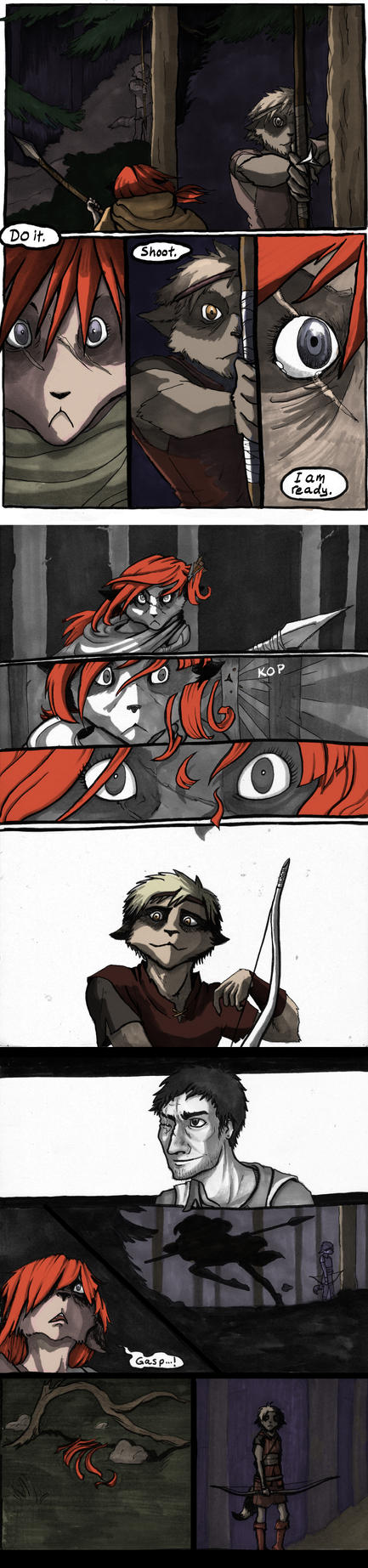 To my sister, Pages 13 - 15 by Tohmo