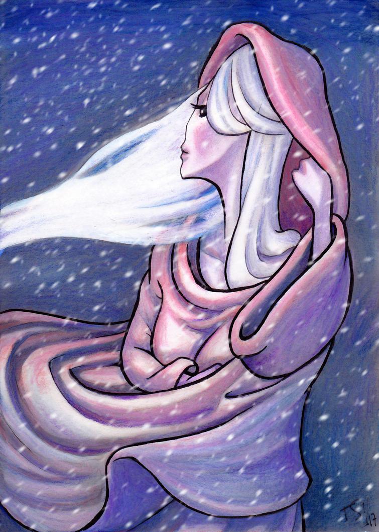 Aralmin in a Blizzard by Tohmo