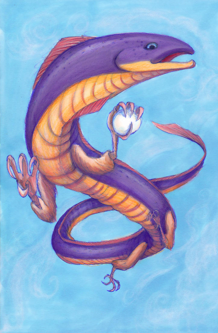 Dragon by Tohmo