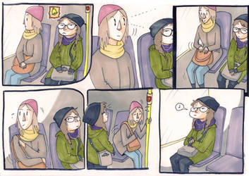 Bus ride by Tohmo
