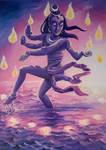 Dancing Shiva by Tohmo