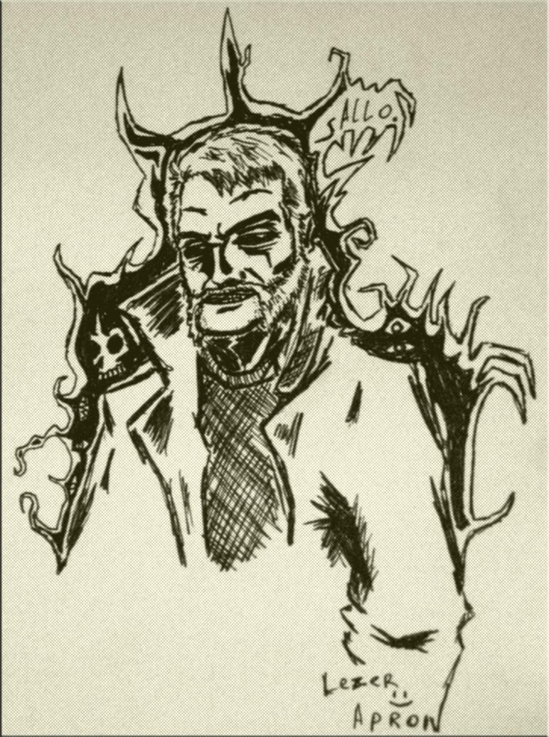 Self portrait by lezerapron