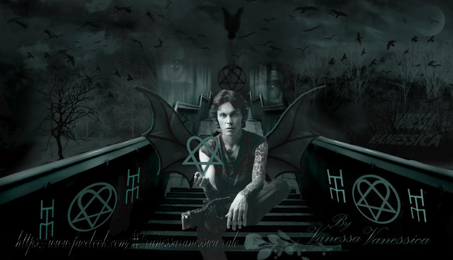 HIM MY ARTWORK by vanessyca71
