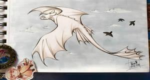 Just flying dragon
