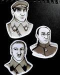Leaders of nkvd