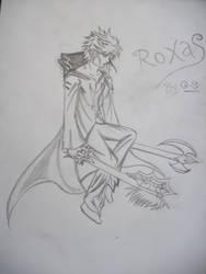 roXas 'the lost' by darken112