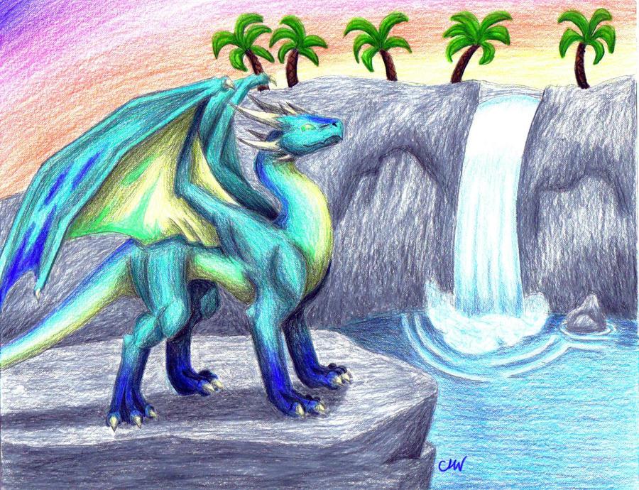 Sunset dragons | Ilustrator, Dragon, Fantezie |Dragons And Sunsets
