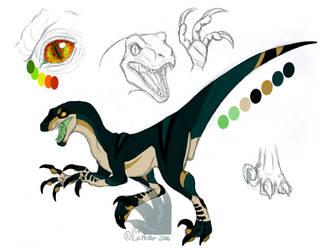 Dinosona Ref: Enoch by Leithster