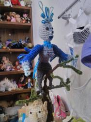 Harpy in the Sayter's tree