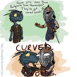 TES: Curved Swords by PlaviGmaz