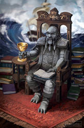 GW2: Ogden Stonehealer - King of Cups by PlaviGmaz