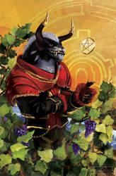 GW2: King of Pentacles - Evon Gnashblade by PlaviGmaz