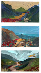 Serene landscapes by PlaviGmaz