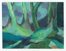 Colorful forest (sketch)