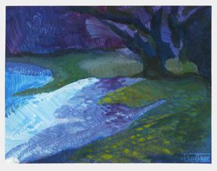 Inner lake (sketch) by PlaviGmaz