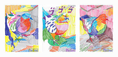 Colorful Bird(s)