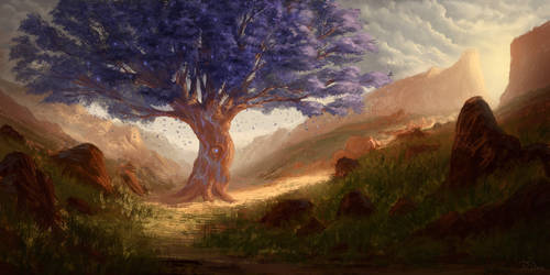Tree of Solitude by PiotrDura