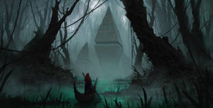 Swamp relics by PiotrDura