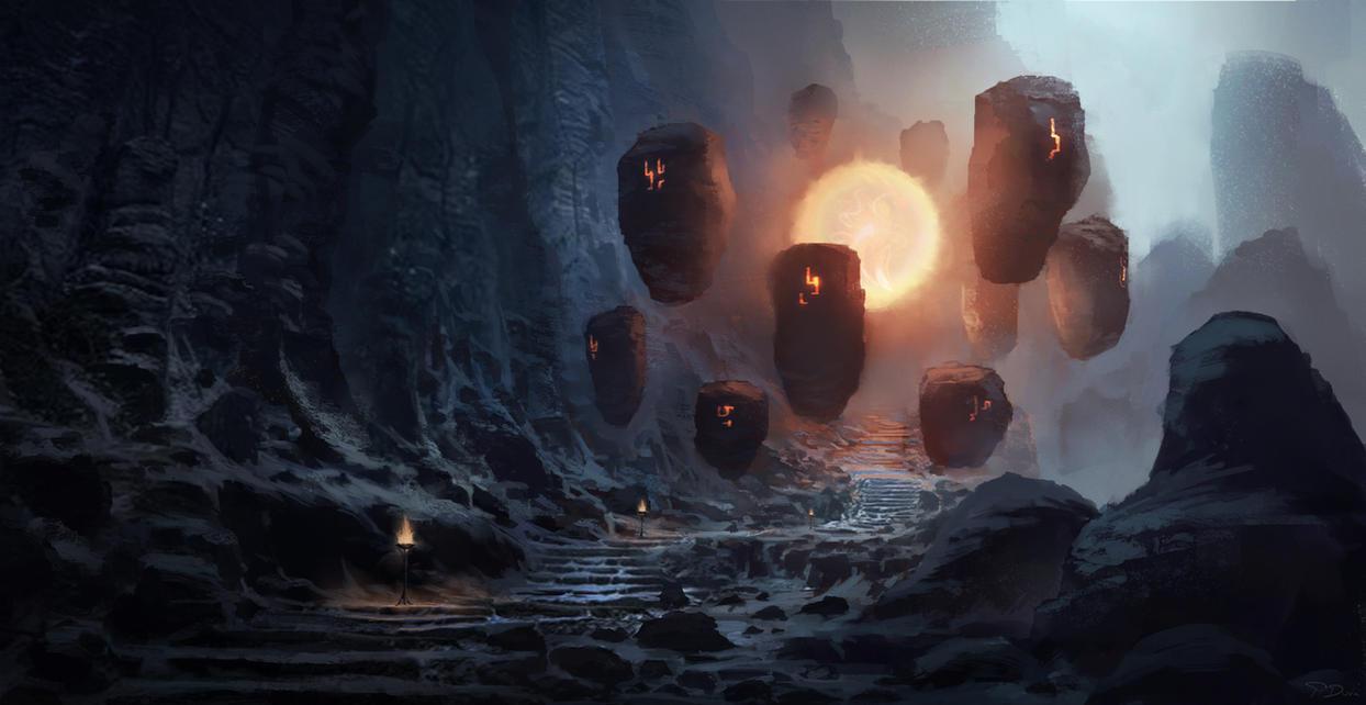 Rising sun trail by ThreeDeee