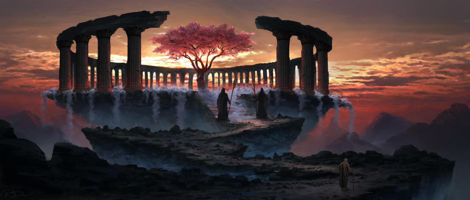Tree of eternal youth by PiotrDura