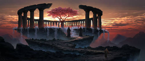 Tree of eternal youth by PiotrDura