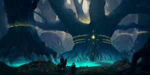 Athlastur Forest by PiotrDura