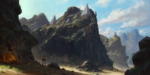Sun Peaks relics by PiotrDura