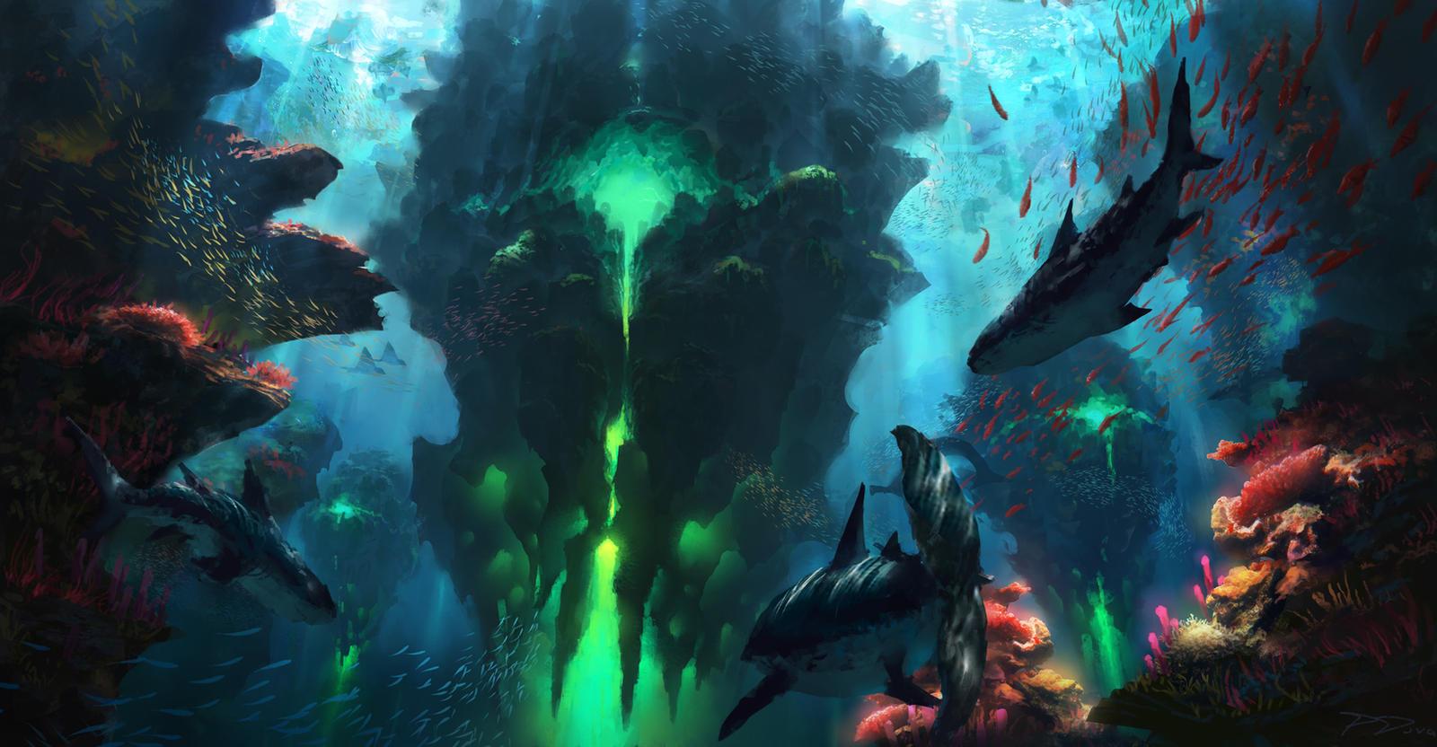 Underwater Fusion by PiotrDura
