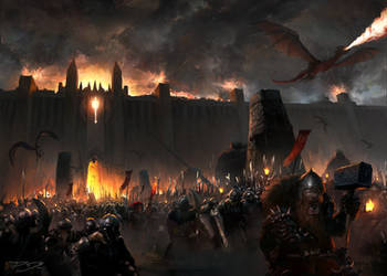 Siege Fortress Hephaestus by PiotrDura