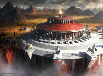 Mtg - Temple of triumph