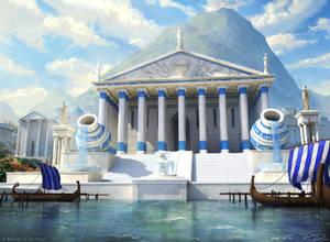 Mtg - Temple of enlightenment