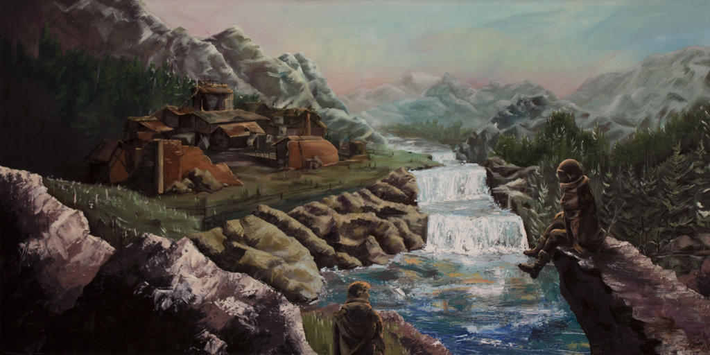 The Village by zzrandomzero