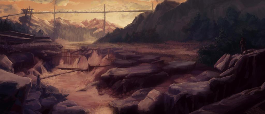 River by zzrandomzero
